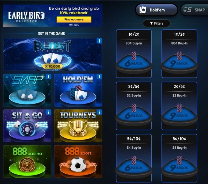 888poker new mobile