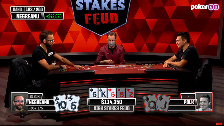 Daniel Negreanu vs Doug Polk bank 114K1
