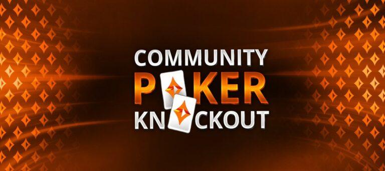 partypoker community knockout tournament